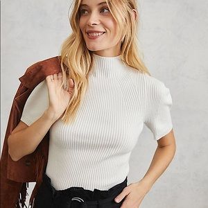 ANTHROPOLOGIE MAEVE ANNETTE SWEATER TEE 💕